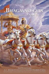 Livro Bhagavad-gītā Como Ele É